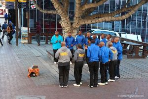 Street performers V&A Waterfront Cape Town