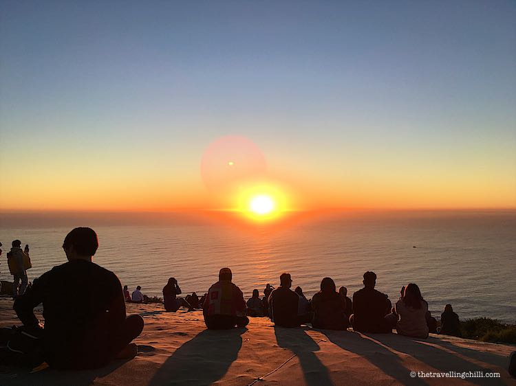 Sunset on Signal Hill Cape Town