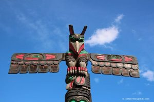vancouver island duncan totem poles