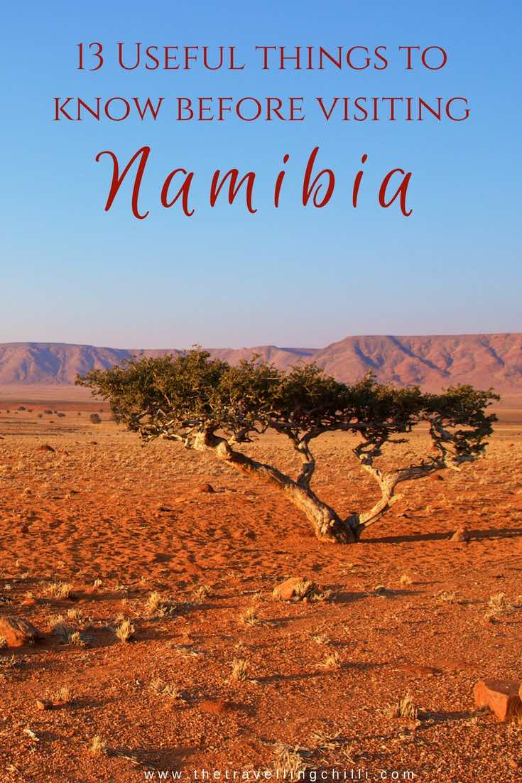 13 Useful things to know before visiting Namibia