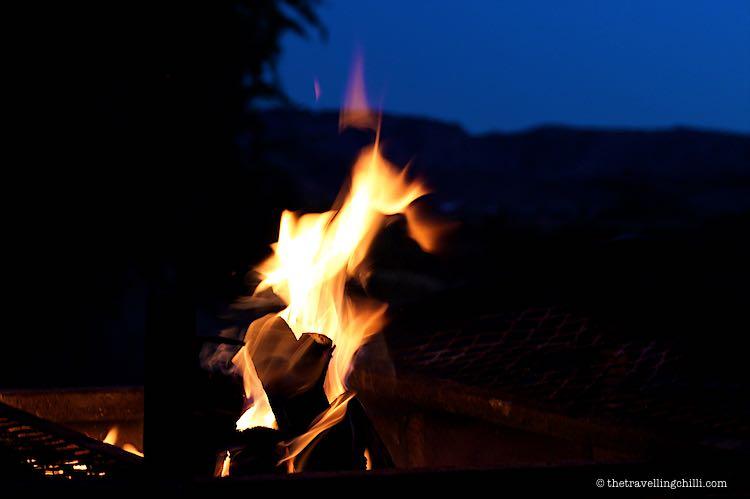 campfire Namibia bushtv