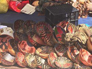 wooden bowl souvenir cape town