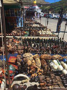 wooden crafts souvenir cape town
