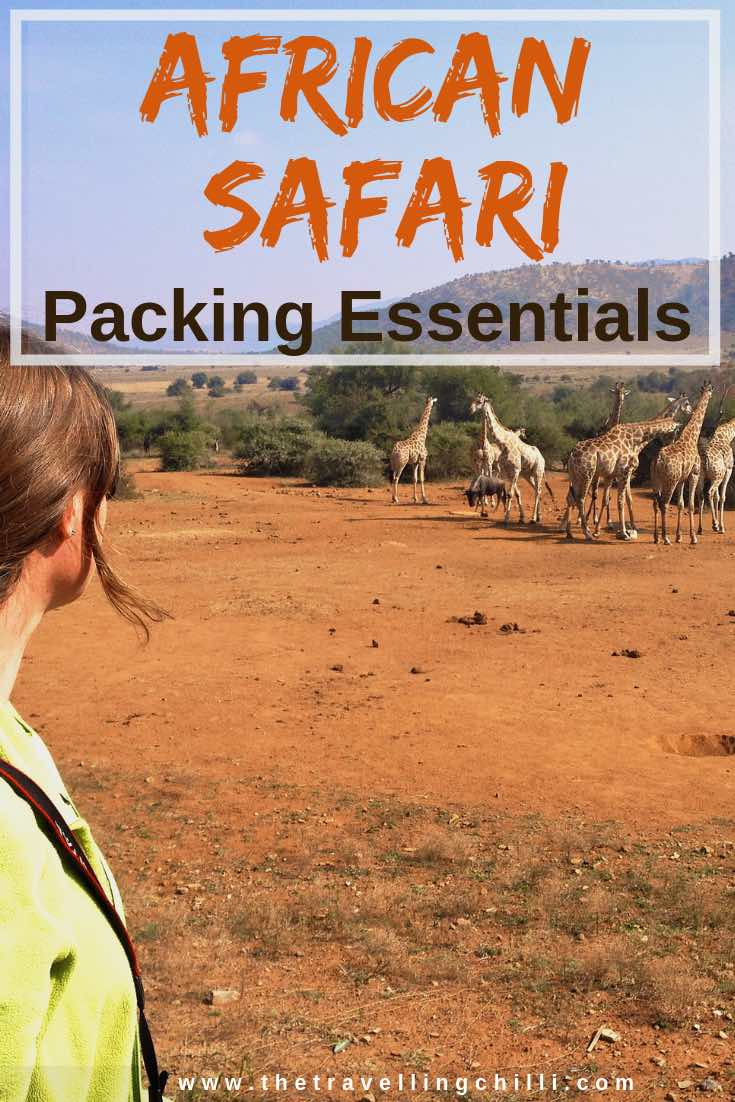 African safari packing essentials | African safari packing list