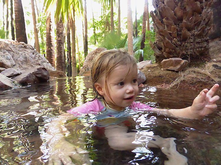 Zebedee Springs Kununurra Australia
