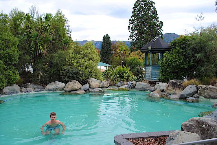 Hanmer Hot Springs in New Zealand