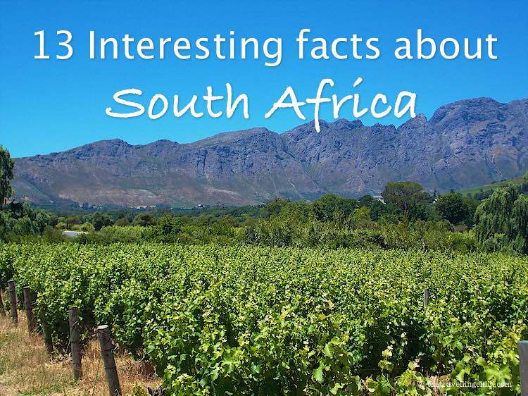 13 Interesting facts about South Africa Southafrica