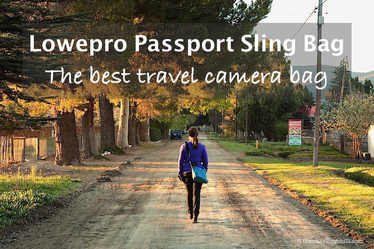 Lowepro Passport Sling Bag the best camera bag for travel