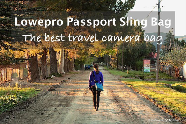 Lowepro Passport Sling Bag the best camera bag for travel