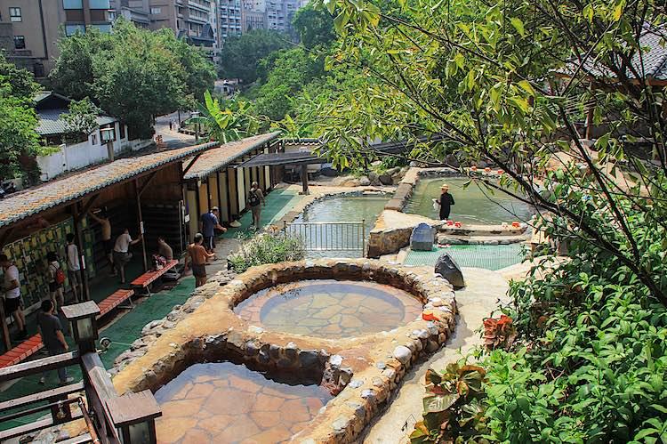Millennium Hot Spring in Beitou Taipei