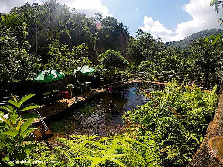Red Rock Hot Springs in Dumaguete Philippines