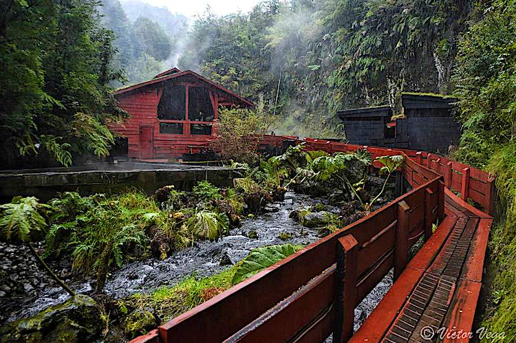 Termas Geometricas in Pucon Chile