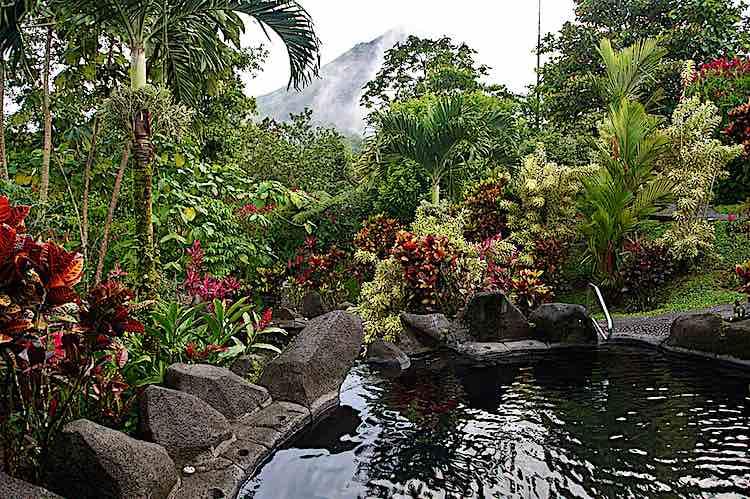 Titoku Hot Springs in Arenal Costa Rica
