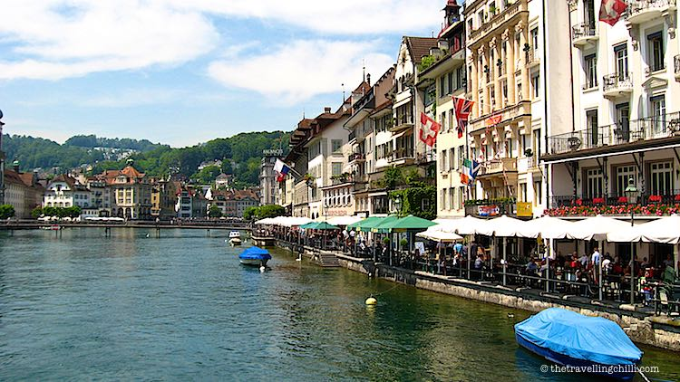 Lucerne Switzerland getaways in Europe
