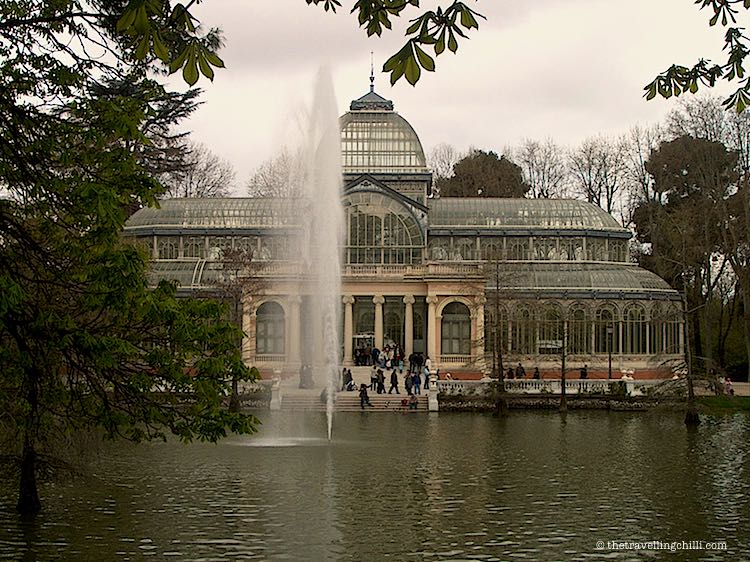 romantic getaways in Europe Palacio de Cristal Retiro Madrid
