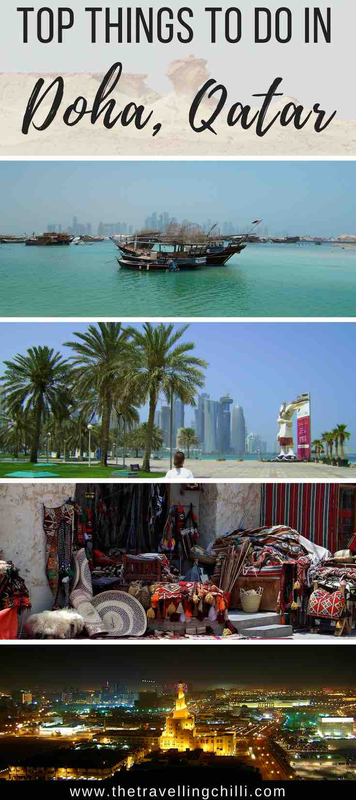 best things to do in doha qatar the travelling chilli. Black Bedroom Furniture Sets. Home Design Ideas