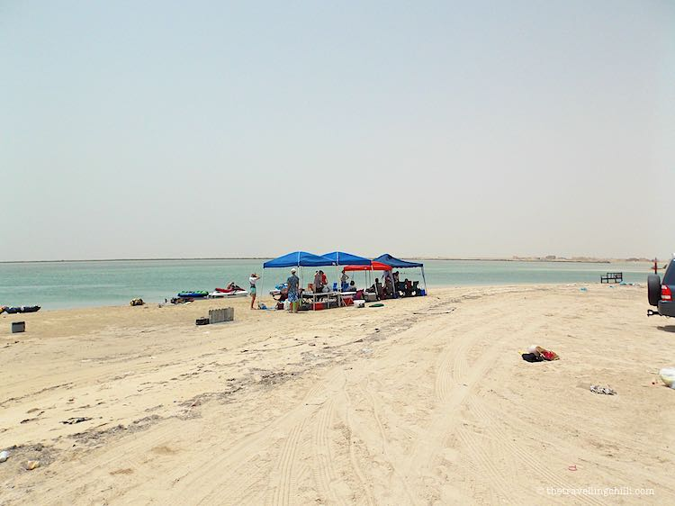 Barbeque at the beach Doha Qatar