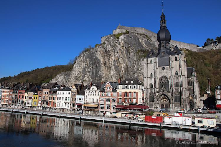 Church of Notre Dame of Dinant with citadel