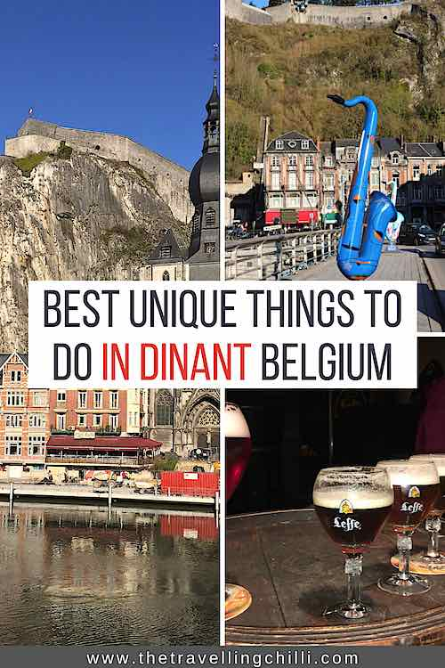 Discover Dinant a hidden gem in Belgium