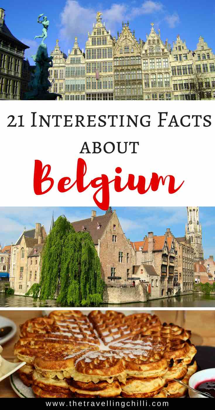 21 Interesting facts about Belgium | Belgium Facts