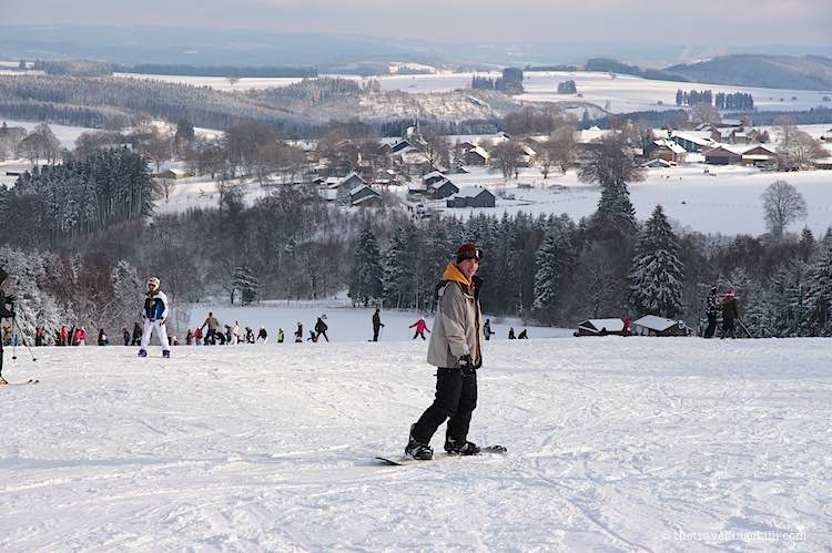 Snowboarding in Baraque de Fraiture Belgium Facts