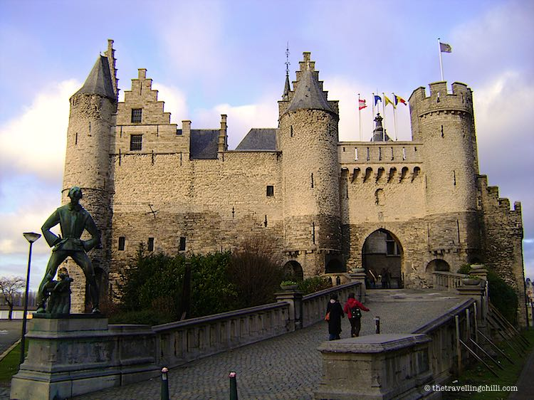 Het Steen Castle Antwerp Belgium Facts