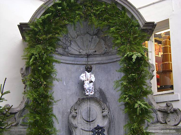 Manneke Pis statue brussels | Belgium Facts