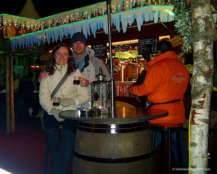 Drinking 'Gluhwein' in Winterland Hasselt Belgium Facts