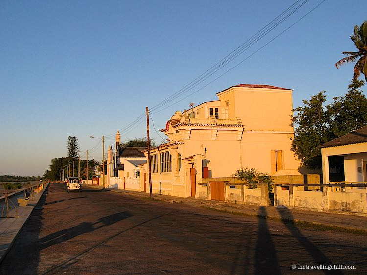 Local architecture Inhambane Mozambique