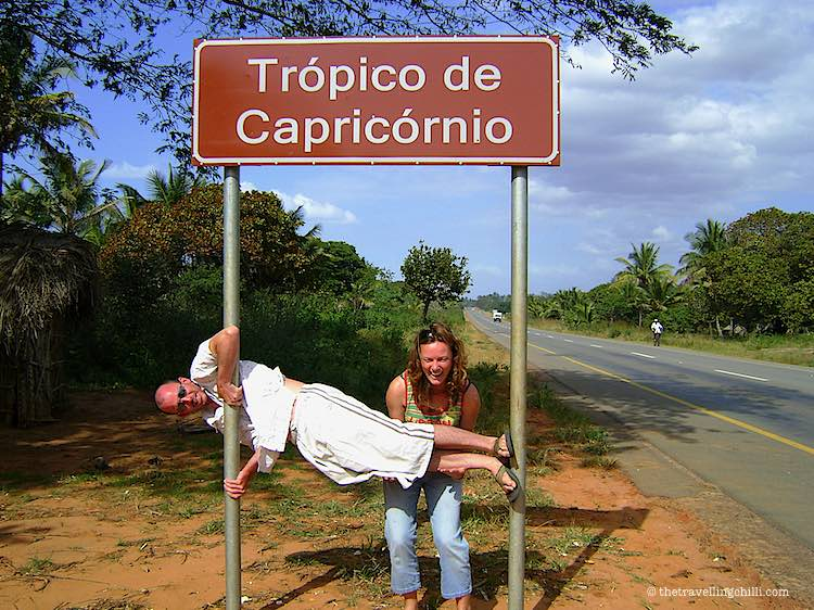 Tropic of Capricorn in Mozambique