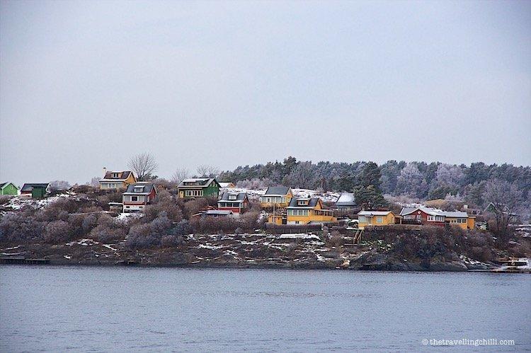 Oslofjord Norway ferry