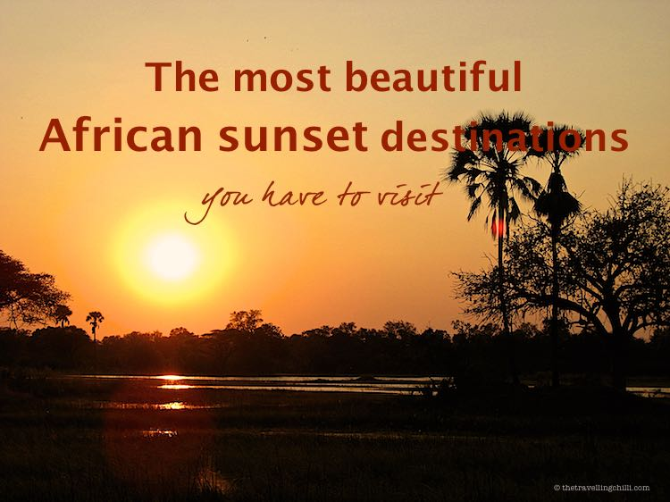 The most beautiful African sunset destinations you have to visit