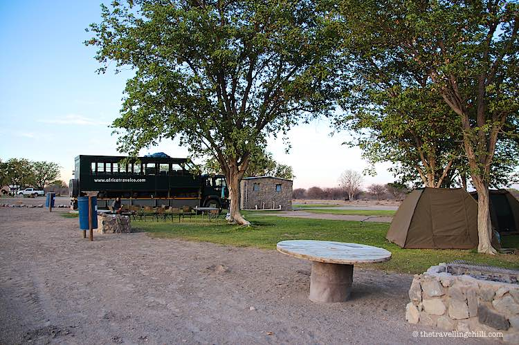 El Dorado Campsite close to Etosha National Park in Namibia
