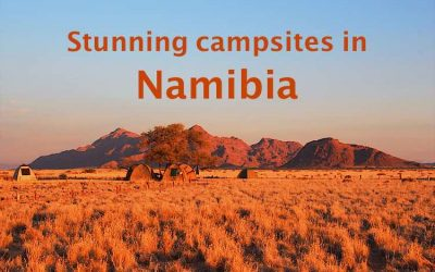 10 Stunning campsites in Namibia