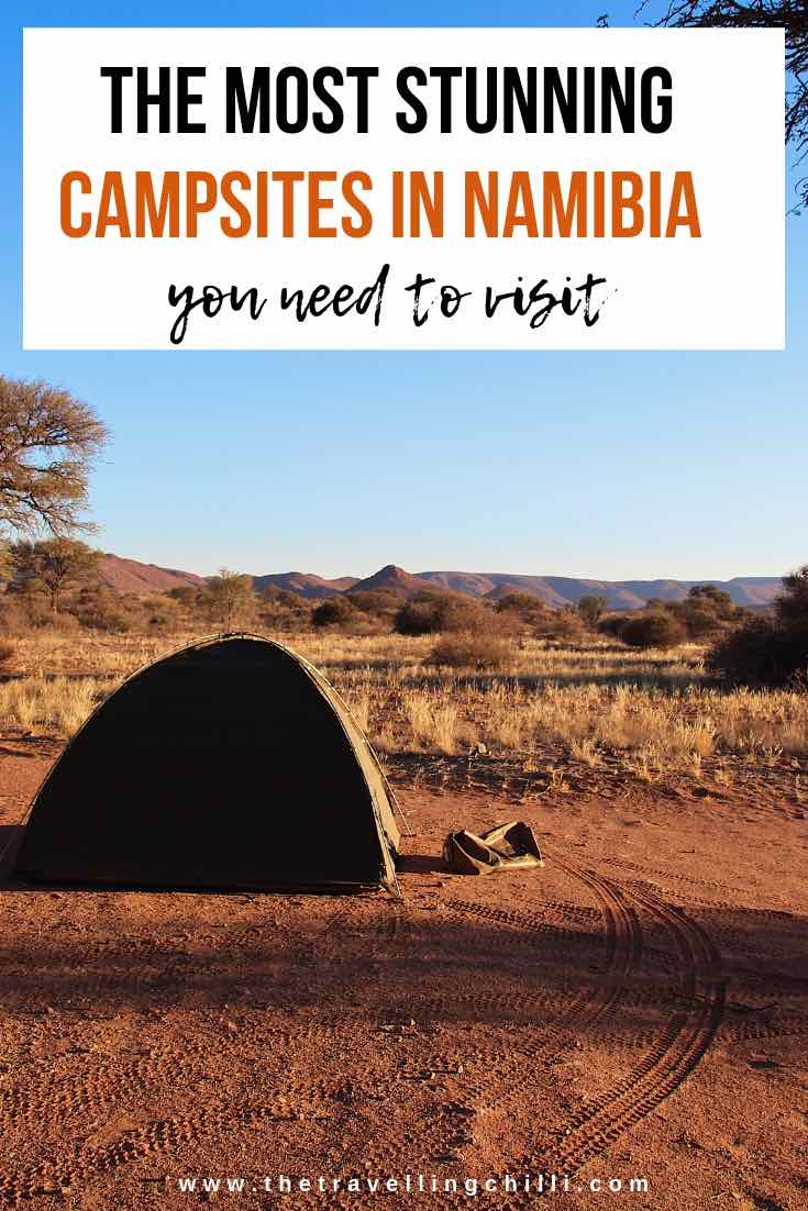 The most stunning campsites in Namibia you need to visit | Camping in Namibia | Where to stay in Namibia | beautiful campsites in Namibia | #namibia