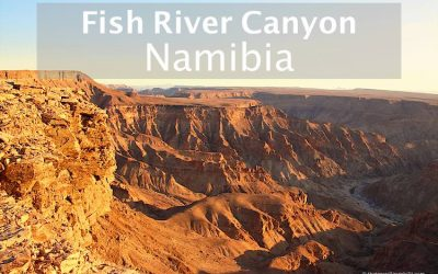 Visit the Fish River Canyon in Namibia