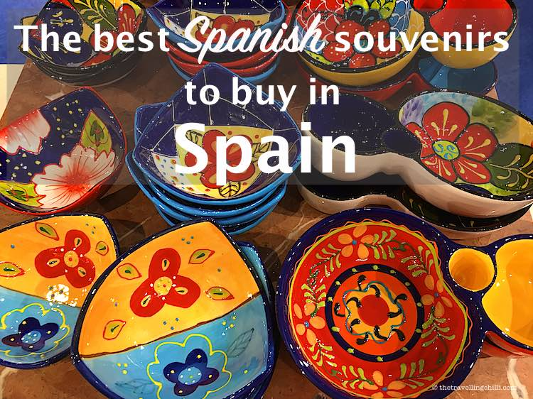 Best Spanish souvenirs from Spain | What to buy in Spain | Souvenirs to buy in Spain | Souvenirs from Sapin