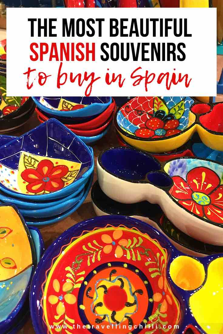 Best Spanish souvenirs from Spain | souvenirs from Barcelona | Things to buy in Spain | Products from Spain #Spain #Spanishsouvenirs #souvenirsfromSpain