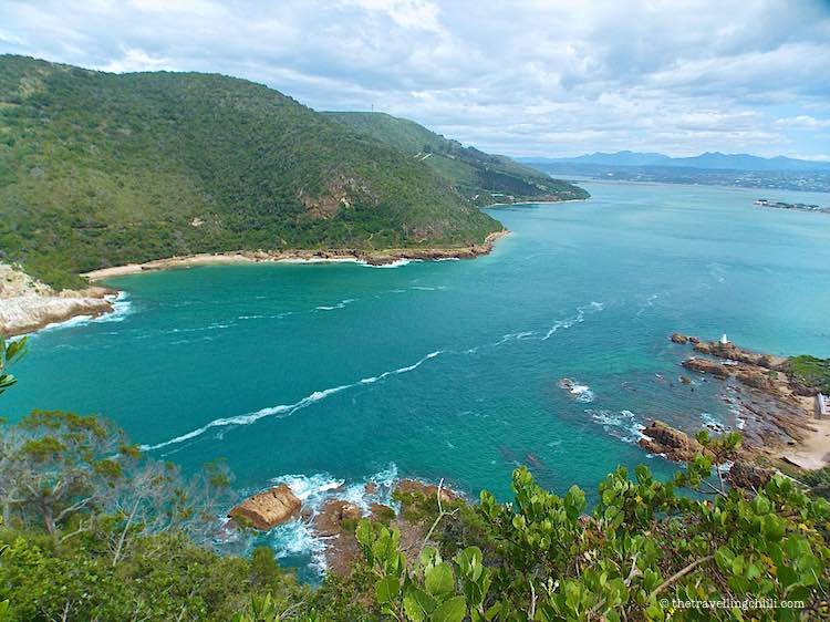 Crystal clear blue water at the Lagoon Knysna Garden Route South Africa
