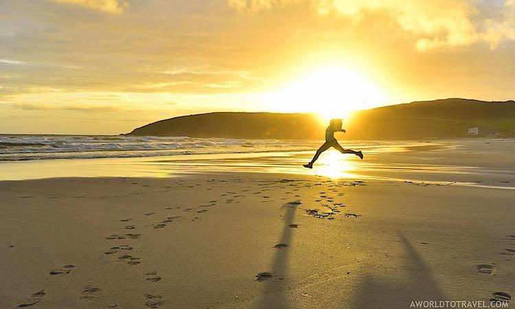 Playa de Nemina beach Galicia Spain