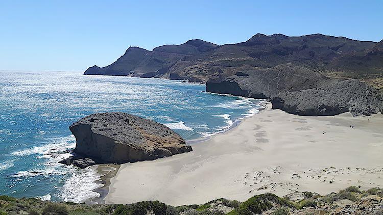 Playa Mansul Cabo de Gata Almeria Spain
