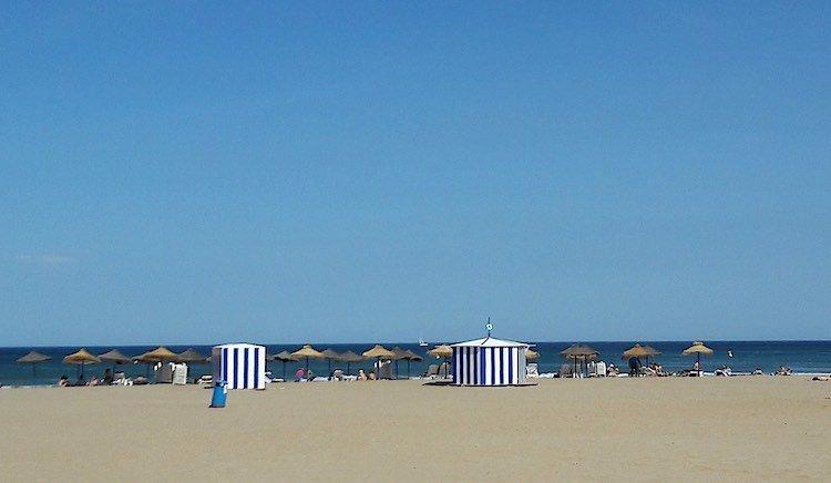 Playa de las Arenas Valencia Spain