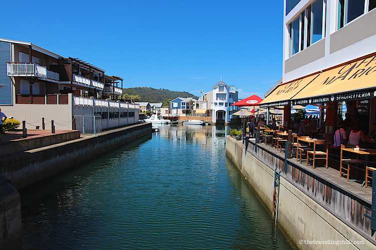 Restaurants at the Waterfront in Knysna South Africa