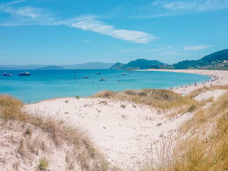 Rodas beach Cies Islands Galicia Vigo Spain