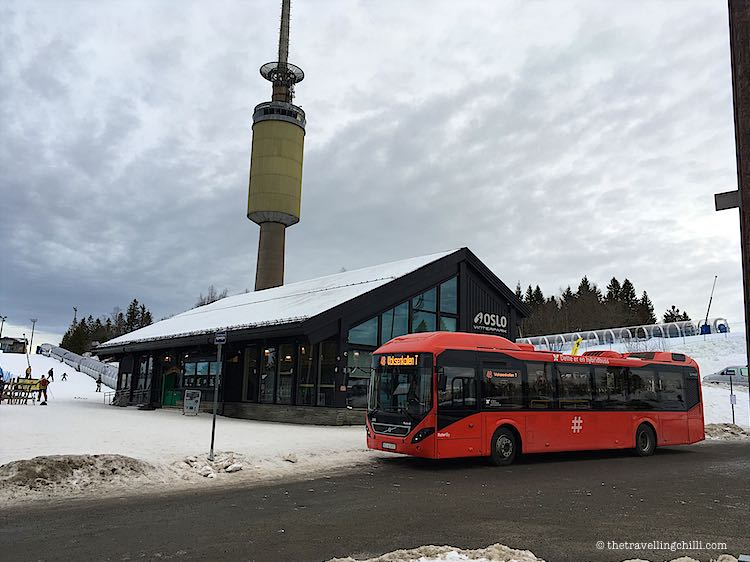 public transport to oslo winter park norway