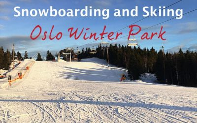 Snowboarding and Skiing in Oslo Winter Park