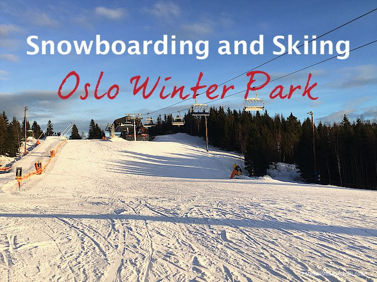 snowboarding skiing in oslo winter park norway | oslo vinterpark