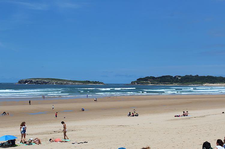 Somo beach Santander Cantabria Spain
