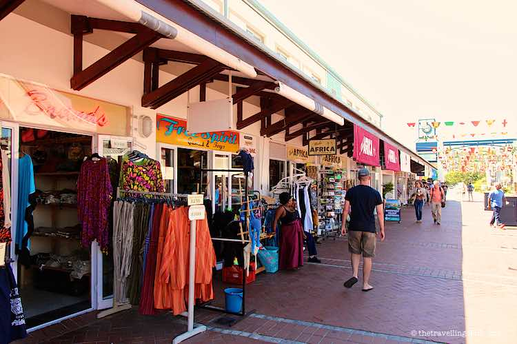 Souvenir Shopping in Knysna Waterfront South Africa