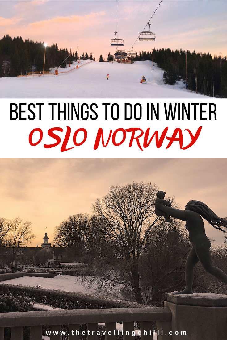 Best things to do in Oslo in Winter | Oslo Winter Park | Things to do in Oslo winter | Oslo Norway | What to do in Oslo winter